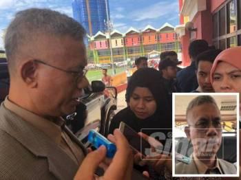Hasanuddin ditemui pada sidang akhbar Majlis Hari Raya Bersama Warga Kota Bharu di Dewan Jubli Perak hari ini.
