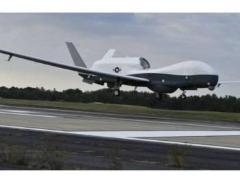 Dron MQ-4C itu ditembak jatuh ketika ia memasuki ruang udara Iran.