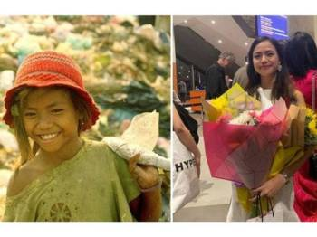 Sophy mengutip sampah sejak kecil bagi membantu kedua ibu bapanya mencari wang.