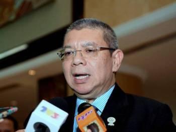 Menteri Luar Datuk Saifuddin Abdullah - Foto Bernama