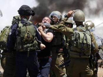 Rakyat Palestin berdepan penindasan tentera Israel hampir setiap hari di bumi sendiri.