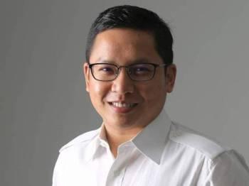 Ketua Pemuda UMNO Bahagian Pasir Gudang, Noor Azleen Ambros.