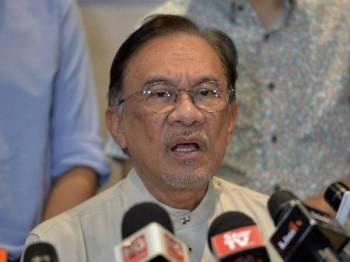 Datuk Seri Anwar Ibrahim - Foto Bernama