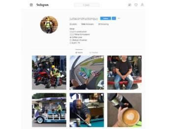 Omar kerap kongsi aktiviti harian di Instagram