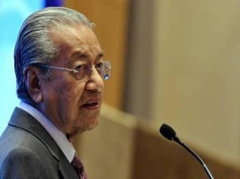 Dr Mahathir - Foto Bernama
