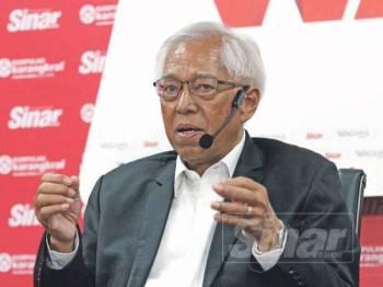 Prof Emeritus Tan Sri Dr Anuwar Ali -Foto Sinar Harian Asril Aswandi Shukor