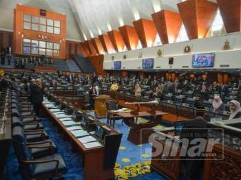 Mesyuarat Kedua Penggal Kedua Parlimen ke-14 bermula hari ini. - FOTO SHARIFUDIN ABDUL RAHIM