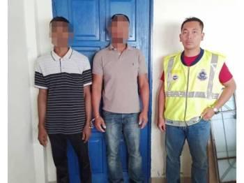 Antara PATI yang ditahan PPM di Jeti Nelayan Foreshore, Pelabuhan Klang, semalam.