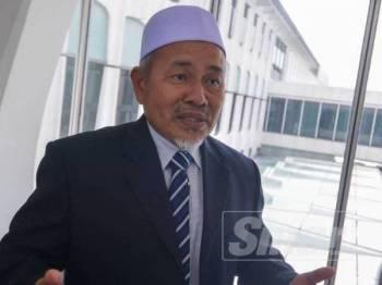 Tuan Ibrahim ketika ditemui pemberita di lobi Parlimen di sini hari ini. - FOTO SHARIFUDDIN ABDUL RAHIM