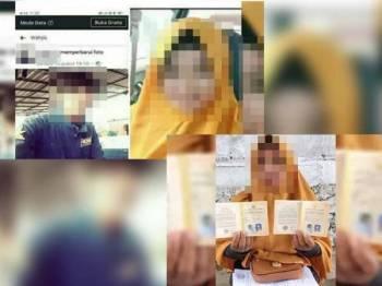 Dokumen pernikahan seorang lelaki dari Sulawesi Selatan dengan adik bongsunya.