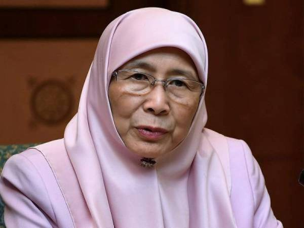 Wan Azizah Wan Ismail - Foto Bernama