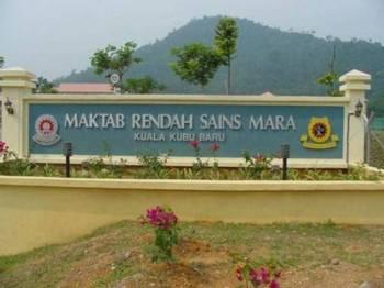 Seramai 33 pelajar dan guru Maktab Rendah Sains Mara (MRSM) Kuala Kubu Bharu disahkan dijangkiti influenza B.