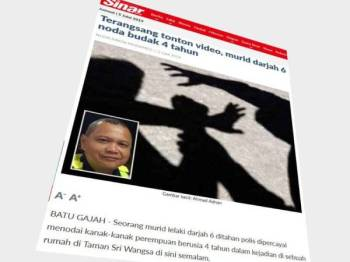 Laporan Sinar Harian 2 Julai lalu.