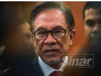 Anwar Ibrahim - FOTO SHARIFUDDIN RAHIM