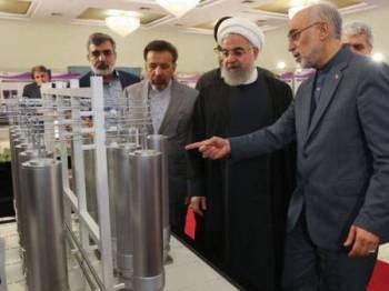 Presiden Iran, Hassan Rouhani mendakwa kuasa dunia gagal mematuhi komitmen mereka dalam perjanjian JCPOA.