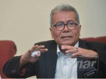 Mohd Redzuan Yusof. - FOTO SHARIFUDIN ABDUL RAHIM