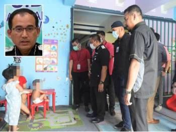 Keadaan tahanan di Depot Tahanan Imigresen Bukit Jalil. (Gambar kecil: Khairul Dzaimee (Gambar kecil).