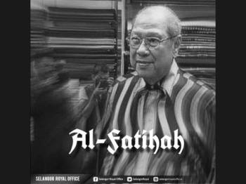 Tengku Ismail Shah Foto: FB Selangor Royal Office