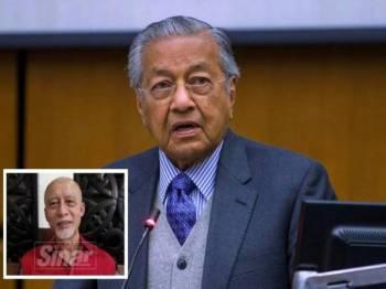 Tun Dr Mahathir Mohamad, (gambar kecil, Mustapha).