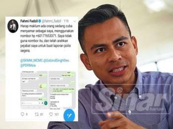 Pengarah Komunikasi PKR, Fahmi Fadzil