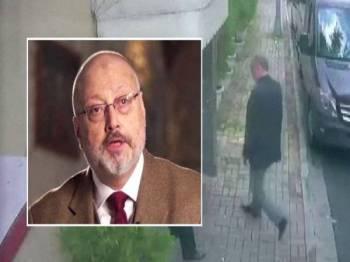 Jamal Khashoggi, penulis di Washington Post dibunuh oleh ejen Arab Saudi ketika mendapatkan dokumen di Istanbul.
