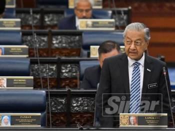 Tun Mahathir - FOTO SHARIFUDDIN ABDUL RAHIM