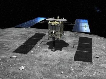 Misi Hayabusa2 adalah untuk mendapatkan sampel asteroid Ryugu bagi memberi gambaran tentang evolusi sistem suria.