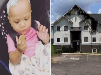 Bayi perempuan berusia lapan bulan maut dalam kebakaran awal pagi Ahad lalu.