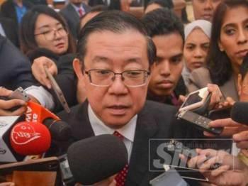 Lim Guan Eng  - FOTO SHARIFUDIN ABDUL RAHIM