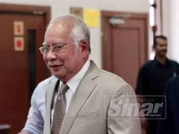 Najib Tun Razak. - FOTO ZAHID IZZANI