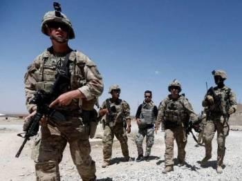 AS ketika ini mempunyai kira-kira 14,000 tentera berpangkalan di Afghanistan.
