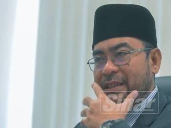 Dr Mujahid Yusof. FOTO SHARIFUDIN ABDUL RAHIM