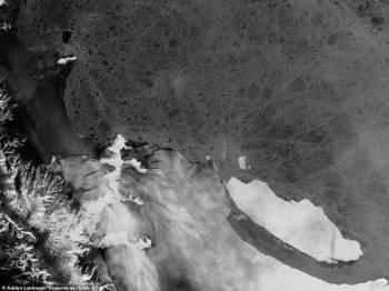 A68 dikhuatiri menjadi 'pulau ais' terbesar di dunia.