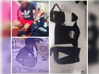 Lelaki warga Indonesia ditahan hari ini manakala pakaian dipercayai digunakan ketika kejadian turut dirampas polis.