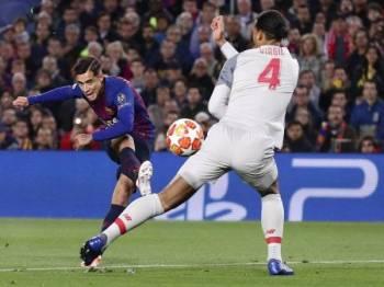 Coutinho mungkin tidak akan dapat kembali sertai Liverpool. Foto: AP
