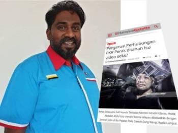 Keratan berita dari beberapa portal berita tempatan mendedahkan Farhash antara tiga individu ditahan susulan kes penyebaran video intim mengaitkan nama seorang menteri kanan di Johor, semalam.