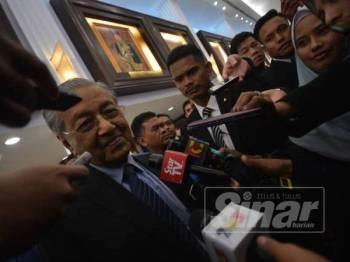Dr Mahathir. Foto: SHARIFUDIN ABDUL RAHIM