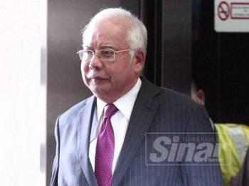 Datuk Seri Najib Razak - FOTO SINAR HARIAN:ZAHID IZZANI