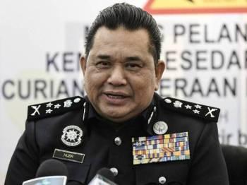 Pengarah Jabatan Siasatan Jenayah Bukit Aman Datuk Huzir Mohamed - Foto BERNAMA