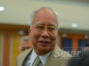 Najib Tun Razak - Foto Sinar Harian SHARIFUDDIN ABD RAHIM