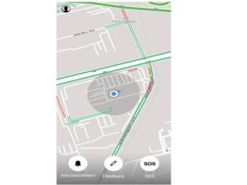 Aplikasi mudah alih yang diperkenal Prolintas bagi memudahkan pengguna menghantar isyarat jika menghadapi masalah kecemasan.