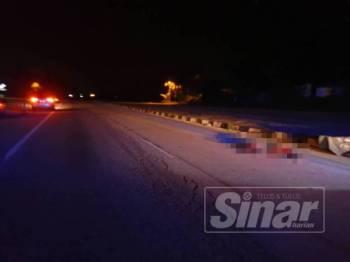 Lelaki berusia 50 tahun itu dilanggar lari ketika melintas jalan untuk pulang ke rumah.