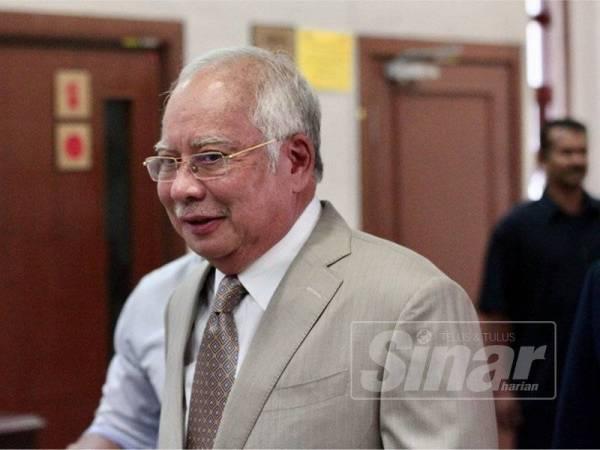 Najib - Foto ZAHID IZZANI