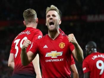 Shaw yakin United akan bangkit menjadi pencabar utama EPL musim depan. FOTO: Getty Images