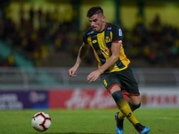 Fernando telah menjaringkan empat gol buat Kedah bagi aksi Piala FA 2019 setakat ini. - Foto AHMAD ZAKI OSMAN