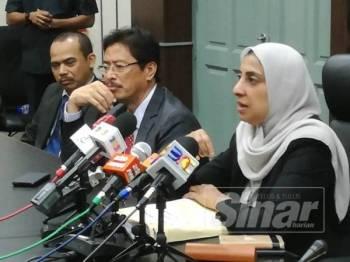 Latheefa ditemui pada sidang media di Ibu Pejabat SPRM Pulau Pinang, hari ini.
