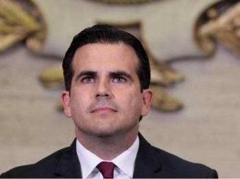 Gabenor Puerto Rico, Ricardo Rossello. - Foto Reuters