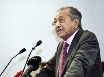Dr Mahathir. Foto: Bernama