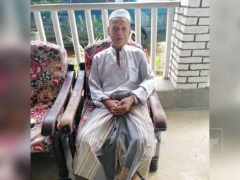 Idris Che Din, 81, dilaporkan hilang sejak petang semalam.