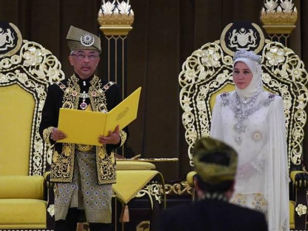 Johor Ucap Tahniah Selamat Sempena Pertabalan Agong